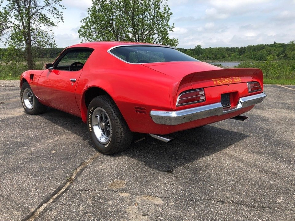 1973 Firebird Trans Am 455 (South Lion, Michigan) $49900.00 For Sale (picture 4 of 6)