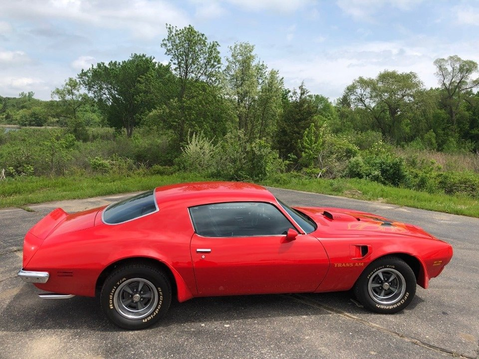 1973 Firebird Trans Am 455 (South Lion, Michigan) $49900.00 For Sale (picture 5 of 6)