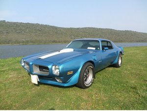 1970 Pontiac Firebird TransAm 455HO Manual