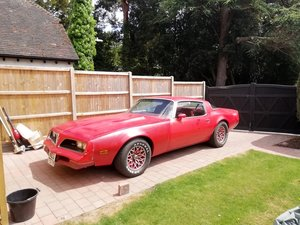1978 PONTIAC FIREBIRD 6.6 big block engine