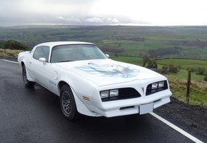 1978 Beautiful Pontiac Firebird Trans Am in Classic White For Sale