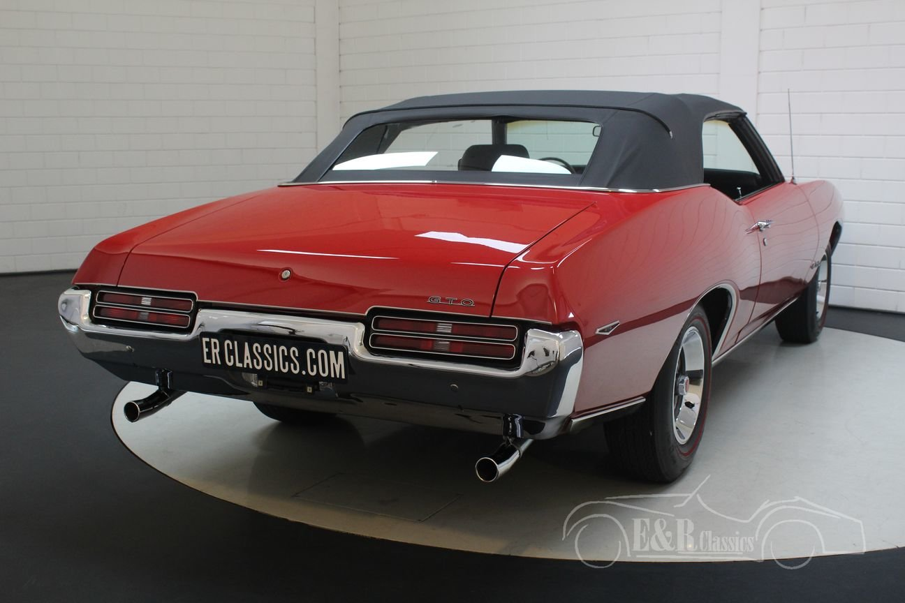 Pontiac GTO Convertible 1969 Ultimate Muscle Car For Sale (picture 5 of 6)