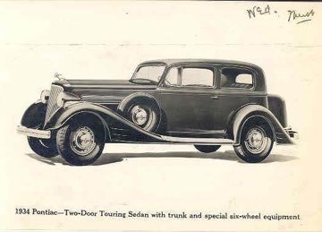 1934 Pontiac PARTS Needed