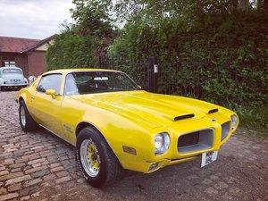 1970 Pontiac Firebird Bullnose Formula 400