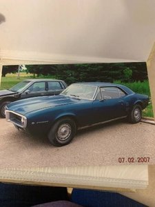 1967 Pontiac Firebird Coupe .. Blue