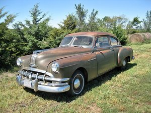 1950 Pontiac Silver Streak Sedanette For Sale