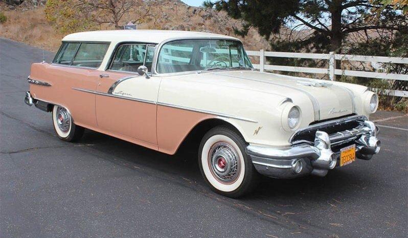 1956 Pontiac Safari Wagon clean Tan(~)Tan driver $53k For Sale (picture 1 of 6)