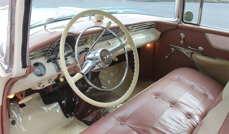 1956 Pontiac Safari Wagon clean Tan(~)Tan driver $53k For Sale (picture 4 of 6)
