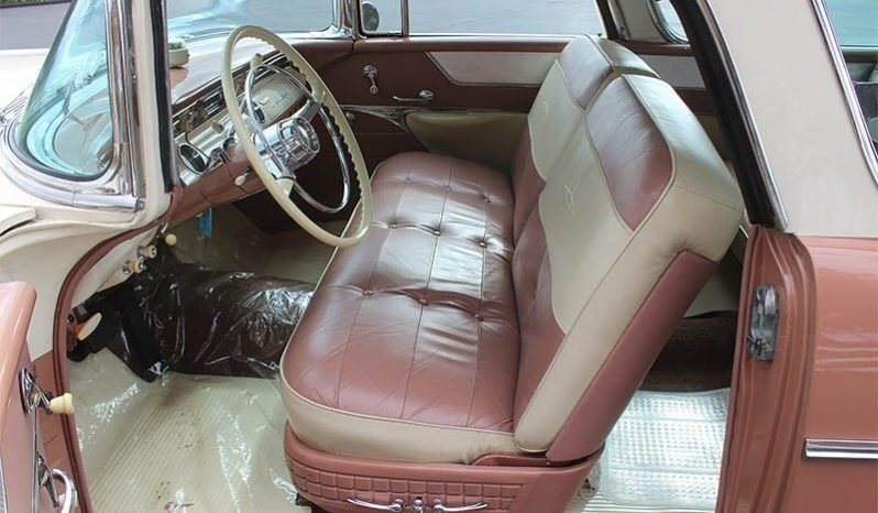 1956 Pontiac Safari Wagon clean Tan(~)Tan driver $53k For Sale (picture 5 of 6)