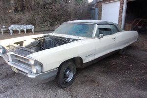 1965 Pontiac Bonneville Convertible w/factory bucket seats For Sale