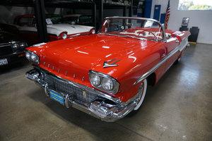 1958 Pontiac Chieftan Tri-Power 370/300HP V8 Convertible SOLD