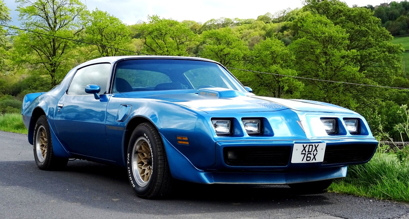 1980 PONTIAC FIREBIRD TRANS AM 6.6 LITRE V8 AMERICAN MUSCLE CAR For Sale (picture 1 of 6)