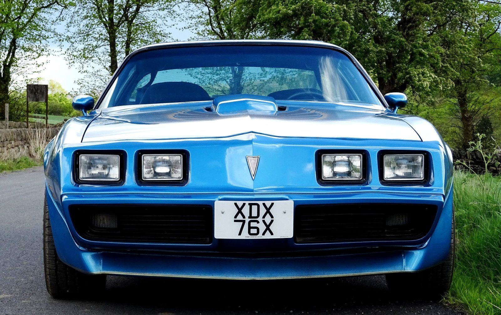 1980 PONTIAC FIREBIRD TRANS AM 6.6 LITRE V8 AMERICAN MUSCLE CAR For Sale (picture 3 of 6)