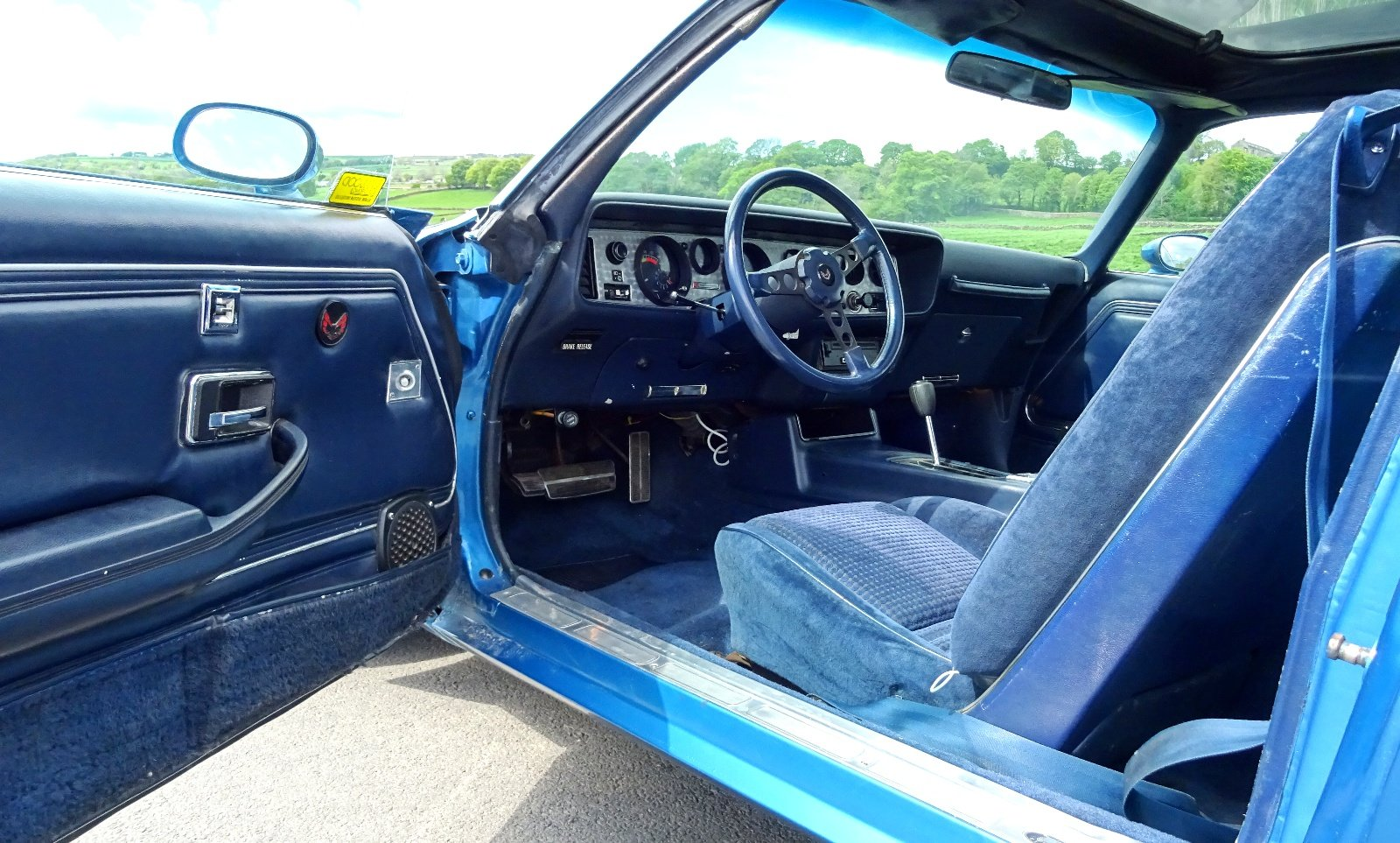 1980 PONTIAC FIREBIRD TRANS AM 6.6 LITRE V8 AMERICAN MUSCLE CAR For Sale (picture 6 of 6)