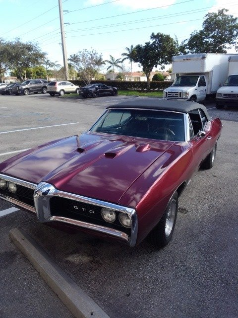 1968 Pontiac GTO Convertible (Deerfield beach, FL) For Sale (picture 1 of 6)