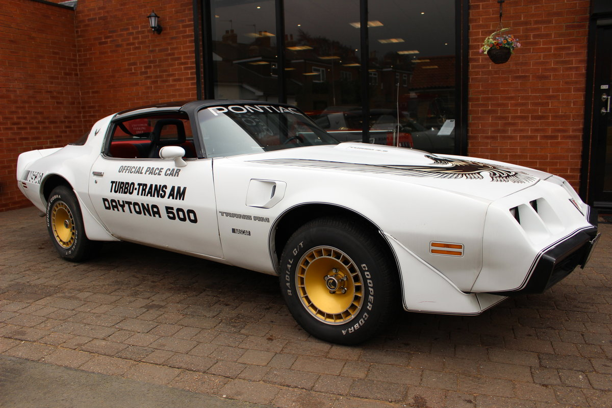 1981 Pontiac Turbo Trans-Am NASCAR Pace Car   Rare For Sale (picture 1 of 10)
