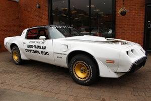 1981 Pontiac Turbo Trans-Am NASCAR Pace Car | Rare