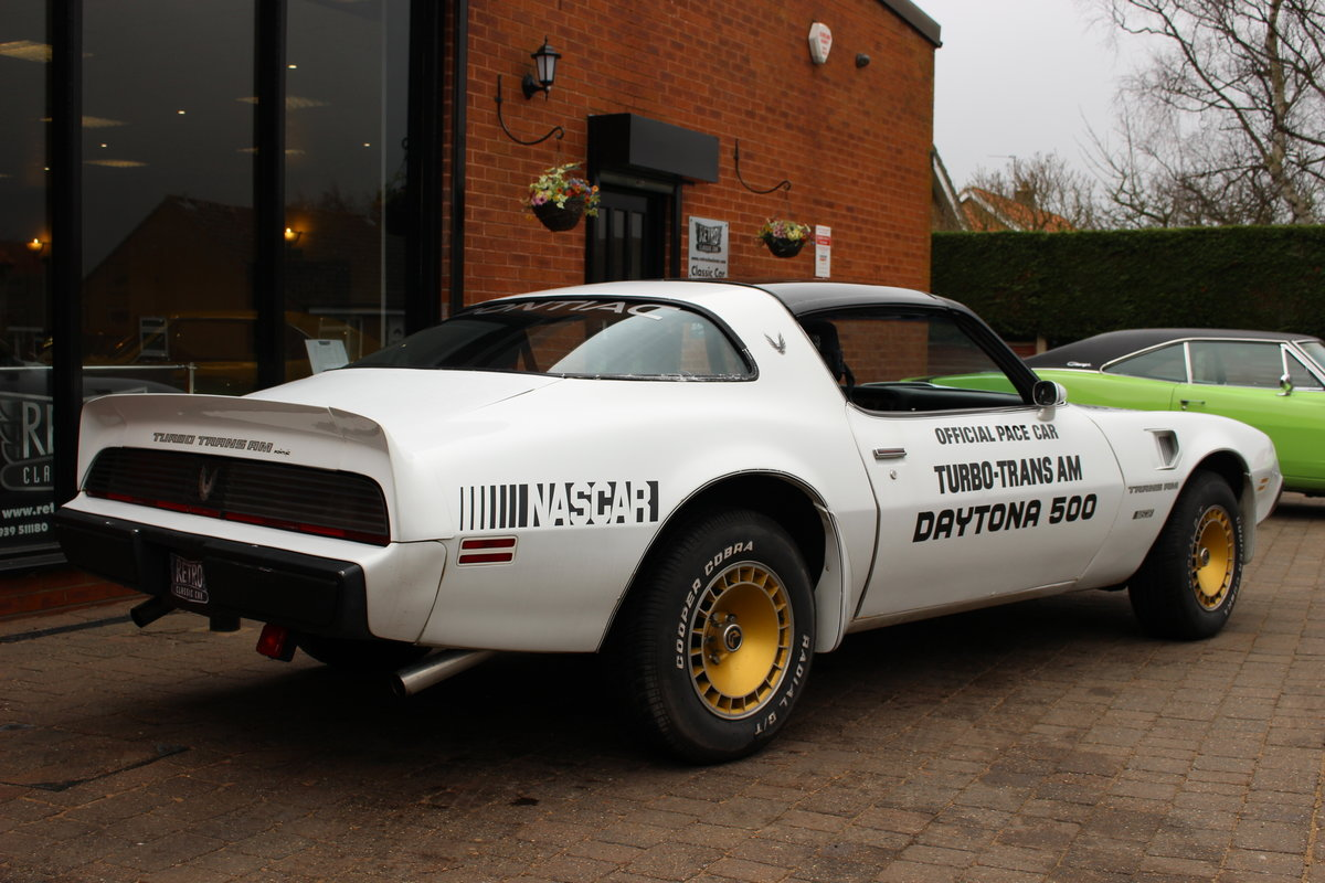 1981 Pontiac Turbo Trans-Am NASCAR Pace Car   Rare For Sale (picture 10 of 10)