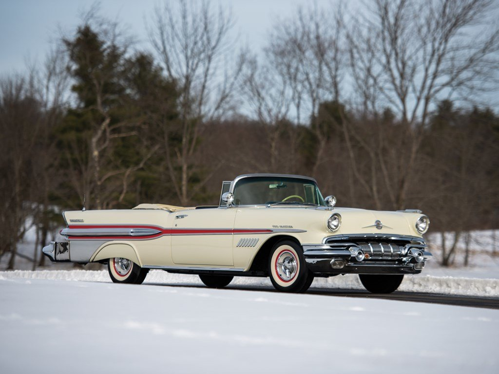 1957 Pontiac Bonneville Convertible  For Sale by Auction (picture 1 of 6)
