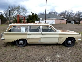 1961 Pontiac Tempest Safari Station Wagon Patina Project $12 For Sale