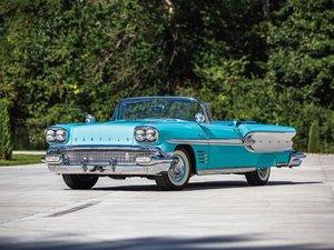 1958 Pontiac Parisienne Convertible  For Sale by Auction
