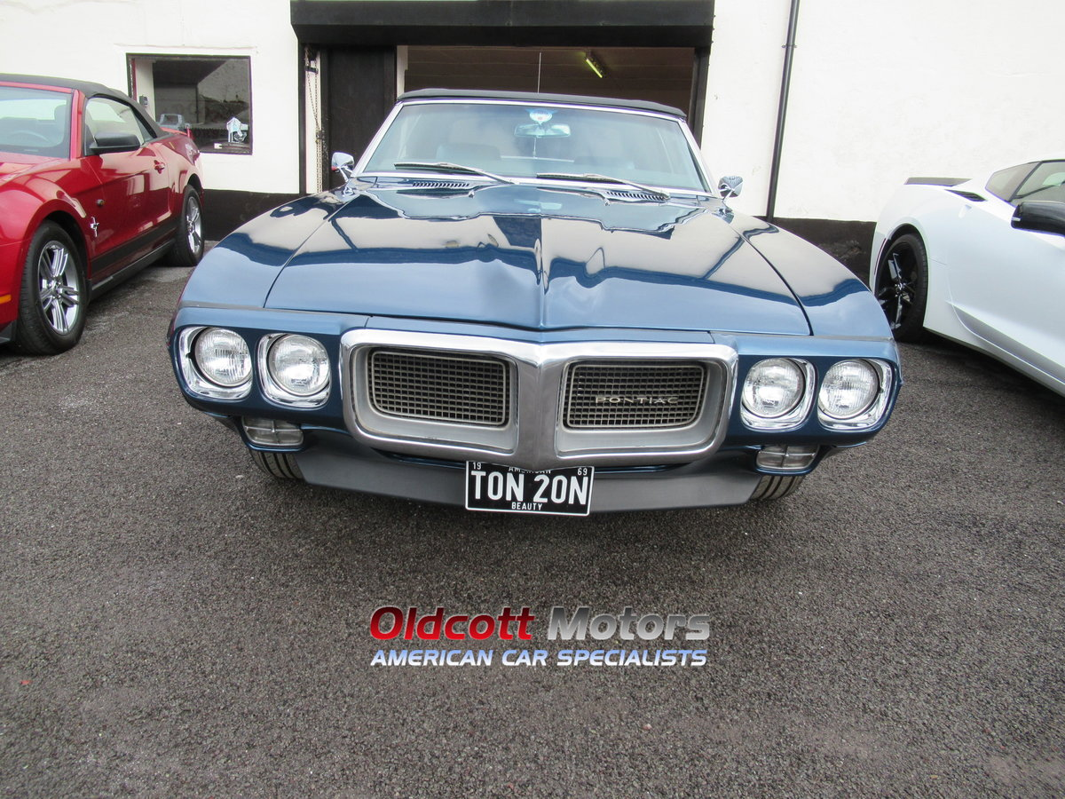 1969 PONTIAC FIREBIRD 350 CONVERTIBLE 5.7 LITRE MANUAL For Sale (picture 2 of 6)