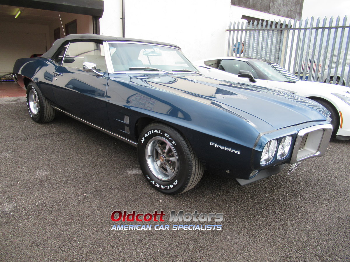 1969 PONTIAC FIREBIRD 350 CONVERTIBLE 5.7 LITRE MANUAL For Sale (picture 3 of 6)