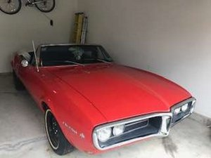 1967 Pontiac Firebird Cdonvertible .. RED