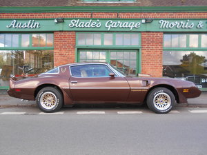 1981 Pontiac Trans Am 6.6L Firebird 34,000 miles Only