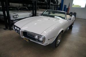Orig California 1968 Pontiac 350 V8 Firebird Convertible SOLD