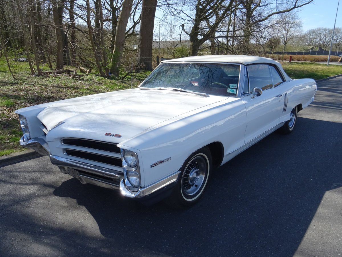 1966 Pontiac 2+2 Convertible – Matching numbers car For Sale (picture 1 of 24)