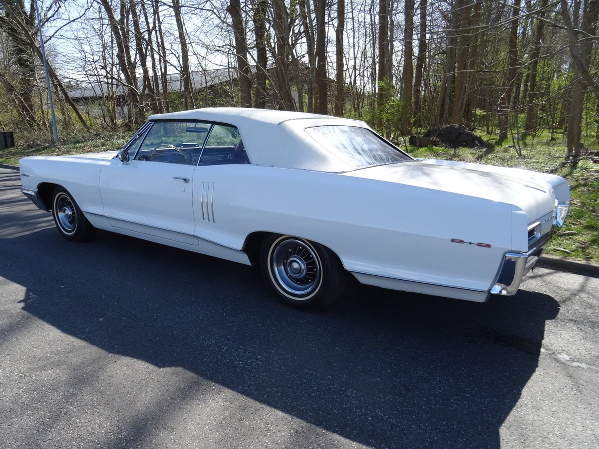 1966 Pontiac 2+2 Convertible – Matching numbers car For Sale (picture 3 of 24)
