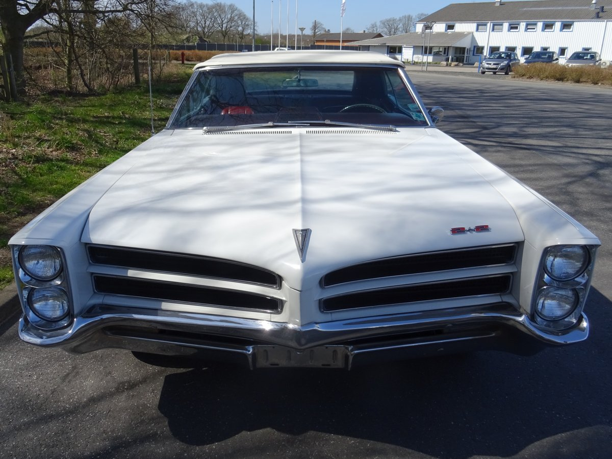 1966 Pontiac 2+2 Convertible – Matching numbers car For Sale (picture 5 of 24)
