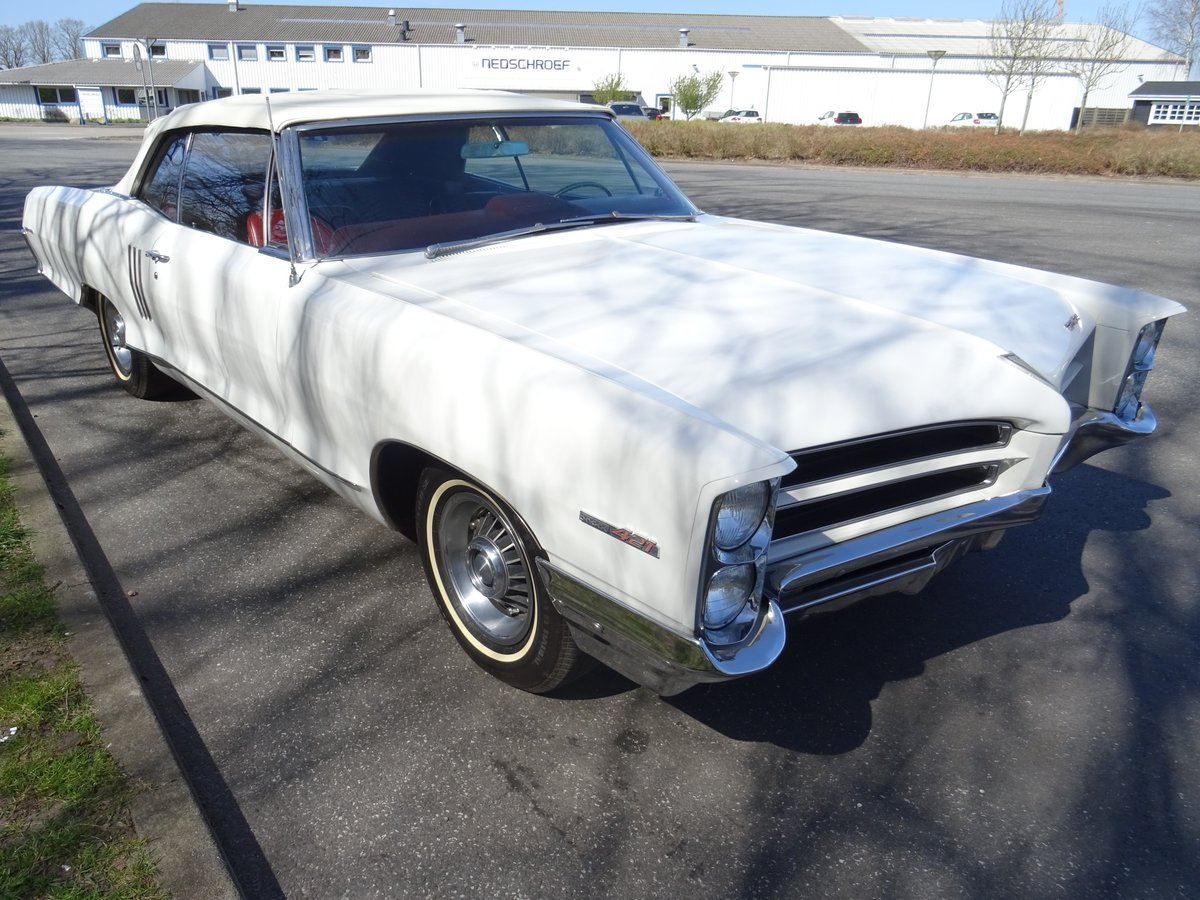 1966 Pontiac 2+2 Convertible – Matching numbers car For Sale (picture 6 of 24)
