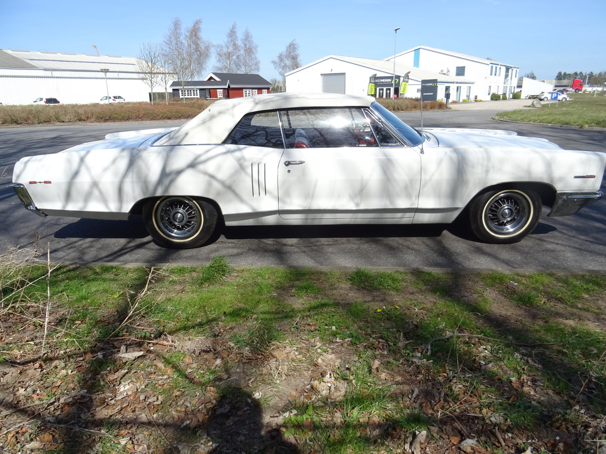1966 Pontiac 2+2 Convertible – Matching numbers car For Sale (picture 7 of 24)