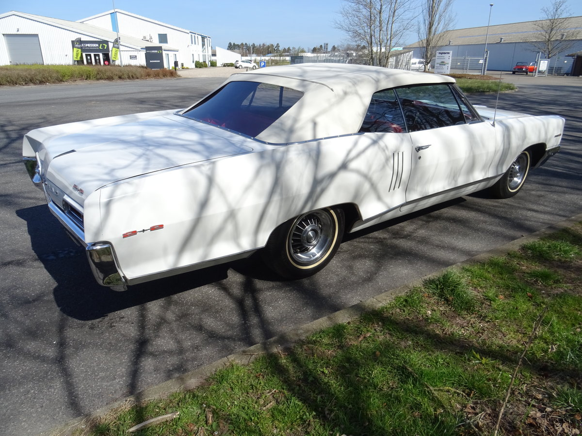 1966 Pontiac 2+2 Convertible – Matching numbers car For Sale (picture 8 of 24)