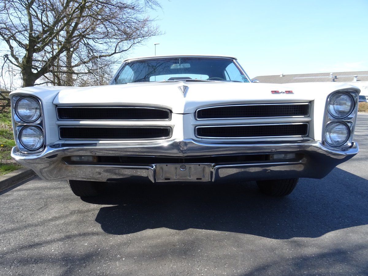 1966 Pontiac 2+2 Convertible – Matching numbers car For Sale (picture 9 of 24)