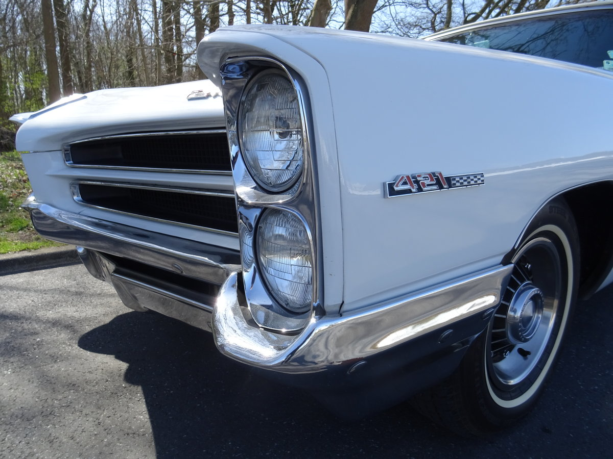 1966 Pontiac 2+2 Convertible – Matching numbers car For Sale (picture 10 of 24)