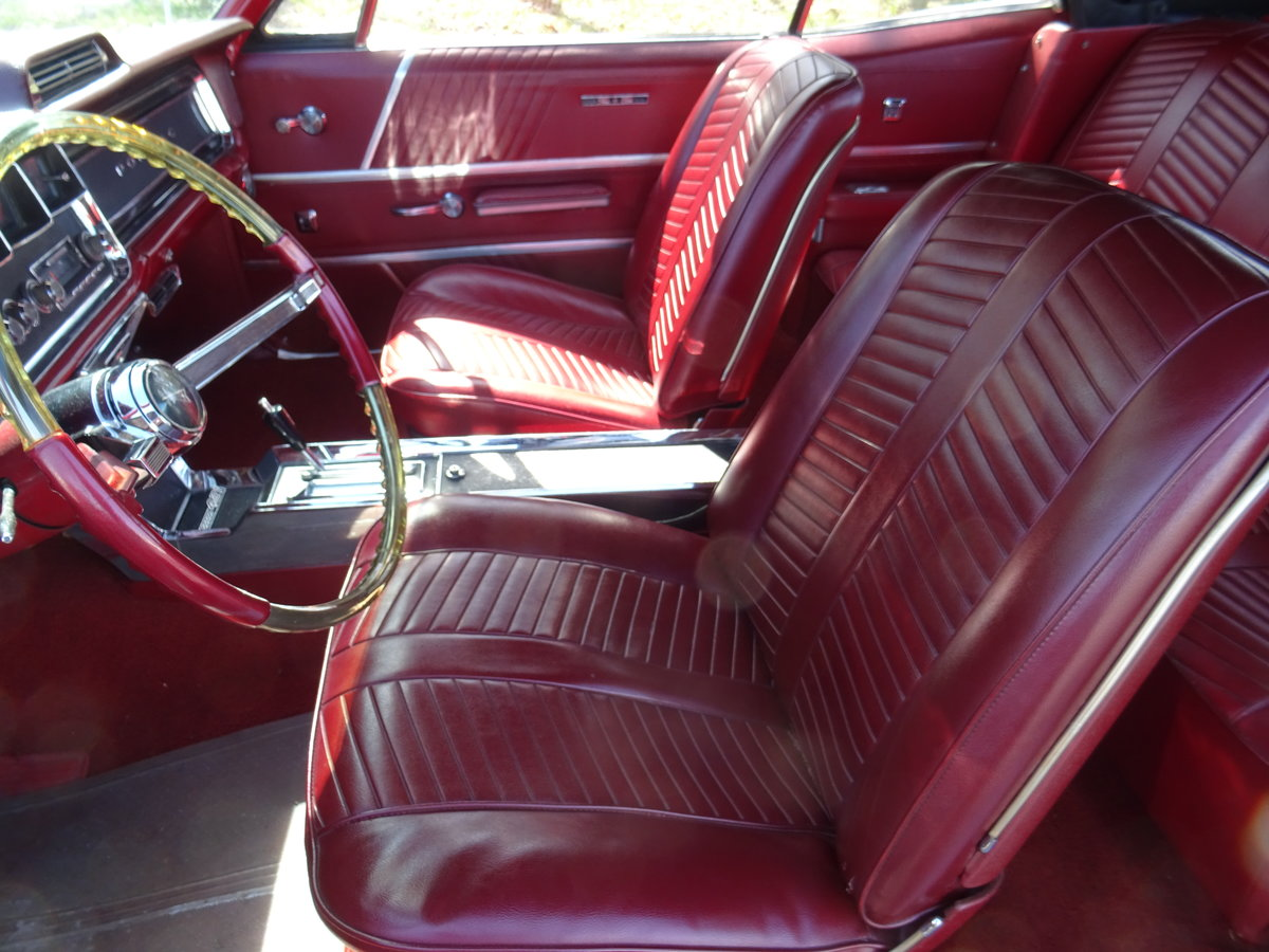 1966 Pontiac 2+2 Convertible – Matching numbers car For Sale (picture 13 of 24)