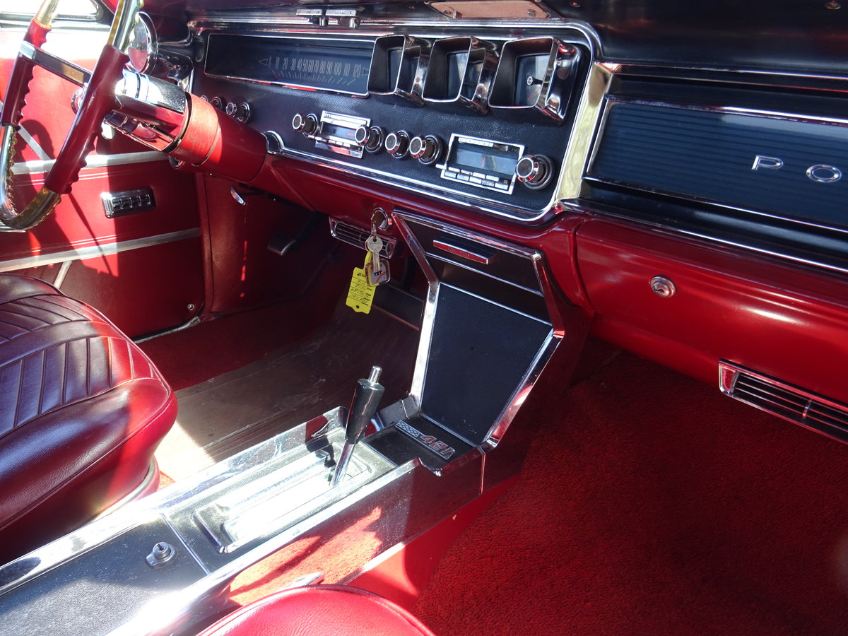 1966 Pontiac 2+2 Convertible – Matching numbers car For Sale (picture 19 of 24)