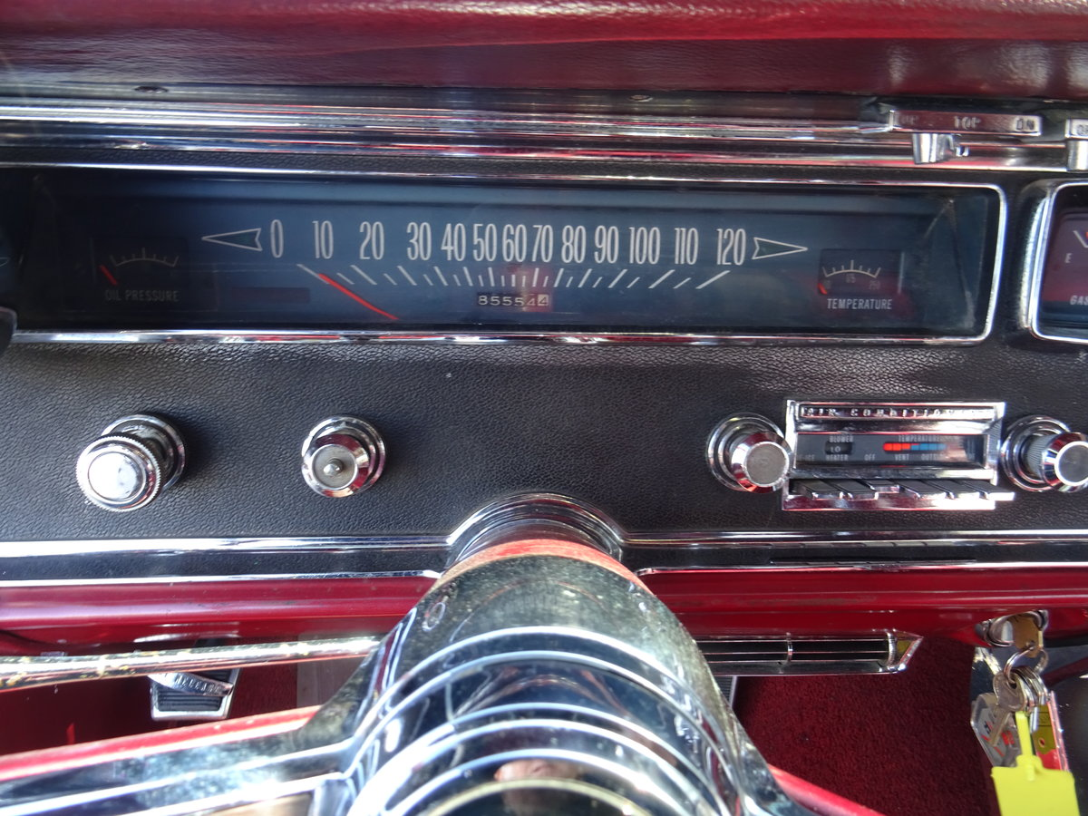 1966 Pontiac 2+2 Convertible – Matching numbers car For Sale (picture 20 of 24)