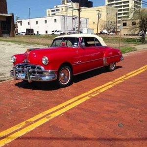 1950 Pontiac 8 Convertible For Sale