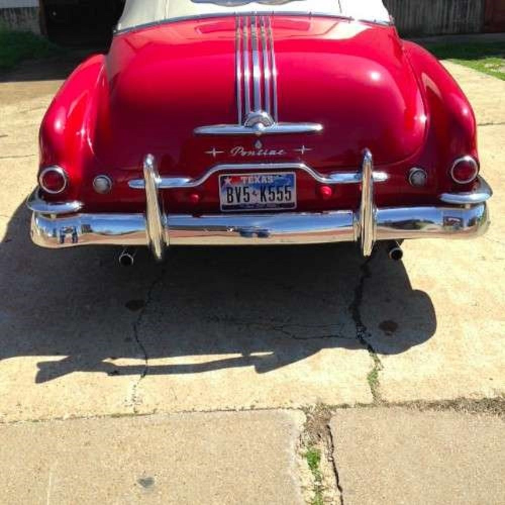 1950 Pontiac 8 Convertible For Sale (picture 4 of 6)