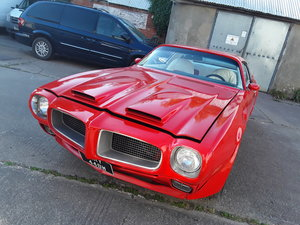 1973 Pontiac Firebird Formula 400 6.6 auto project For Sale