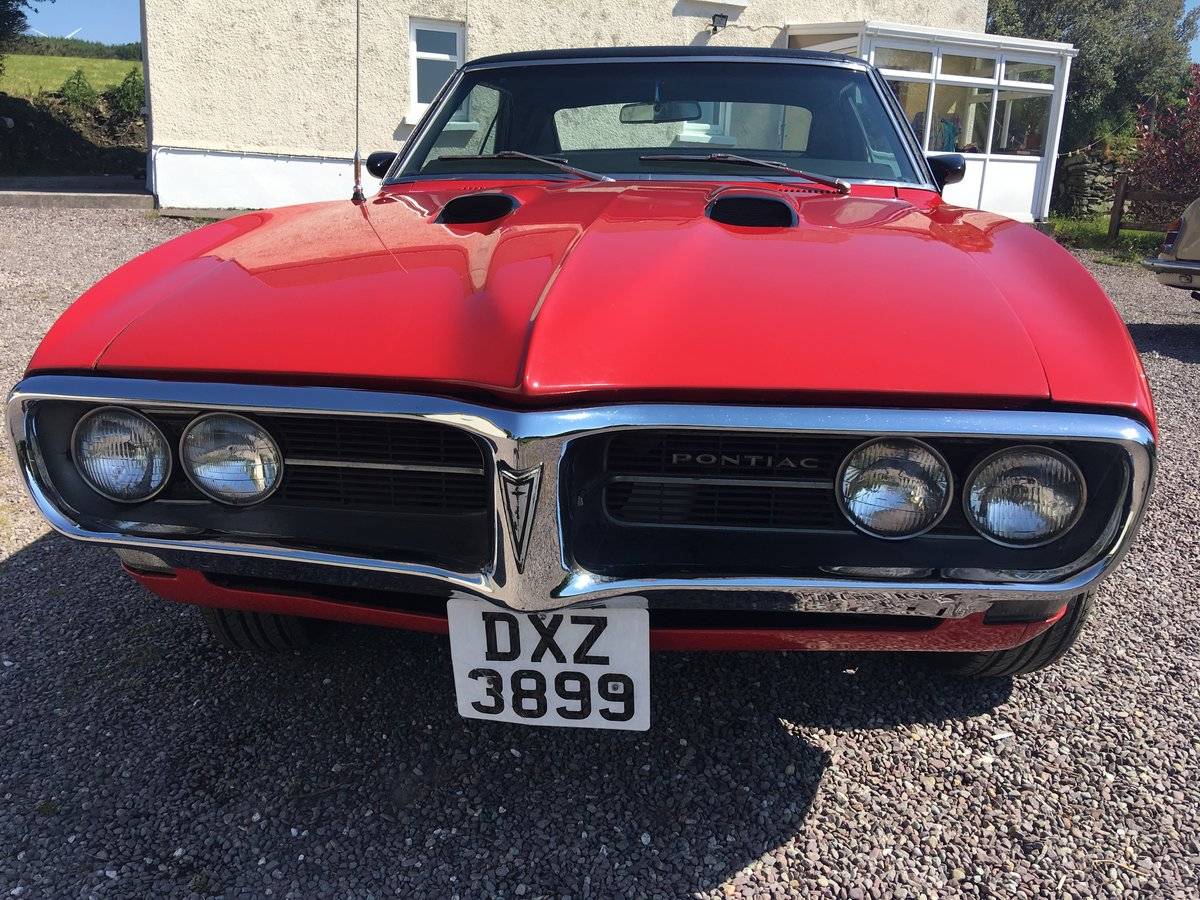 1968 Pontiac Firebird first generation For Sale (picture 2 of 6)