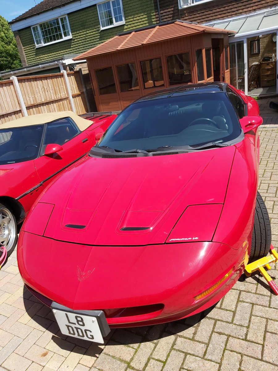 1994 PONTIAC Firebird Formula Pure 90s muscle t top car For Sale (picture 2 of 6)