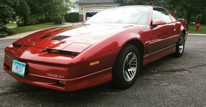 1987 Pontiac Trans AM 2 owner 34k miles