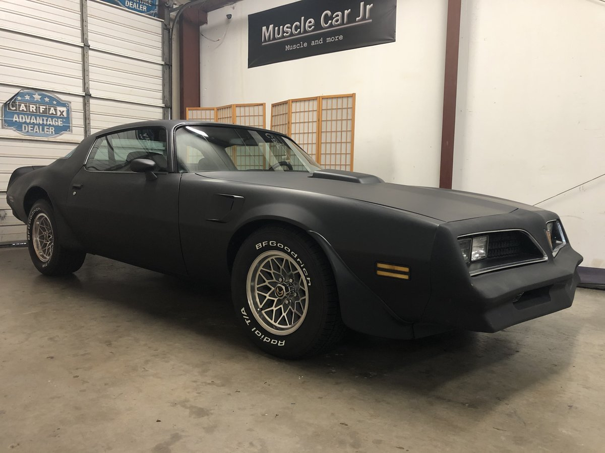 1978 Pontiac Trans Am Resto Mod with LS power A/C & more SOLD (picture 1 of 6)