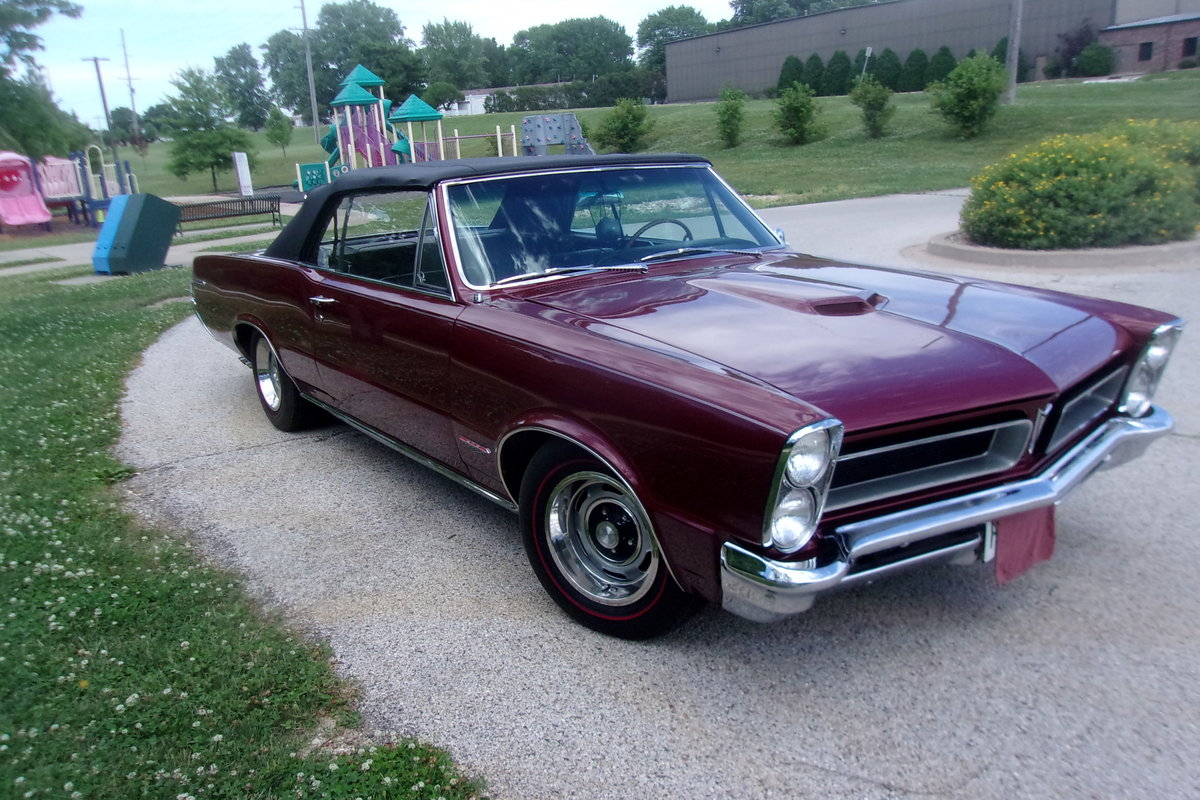 1965 Pontiac GTO Convertible For Sale (picture 1 of 6)