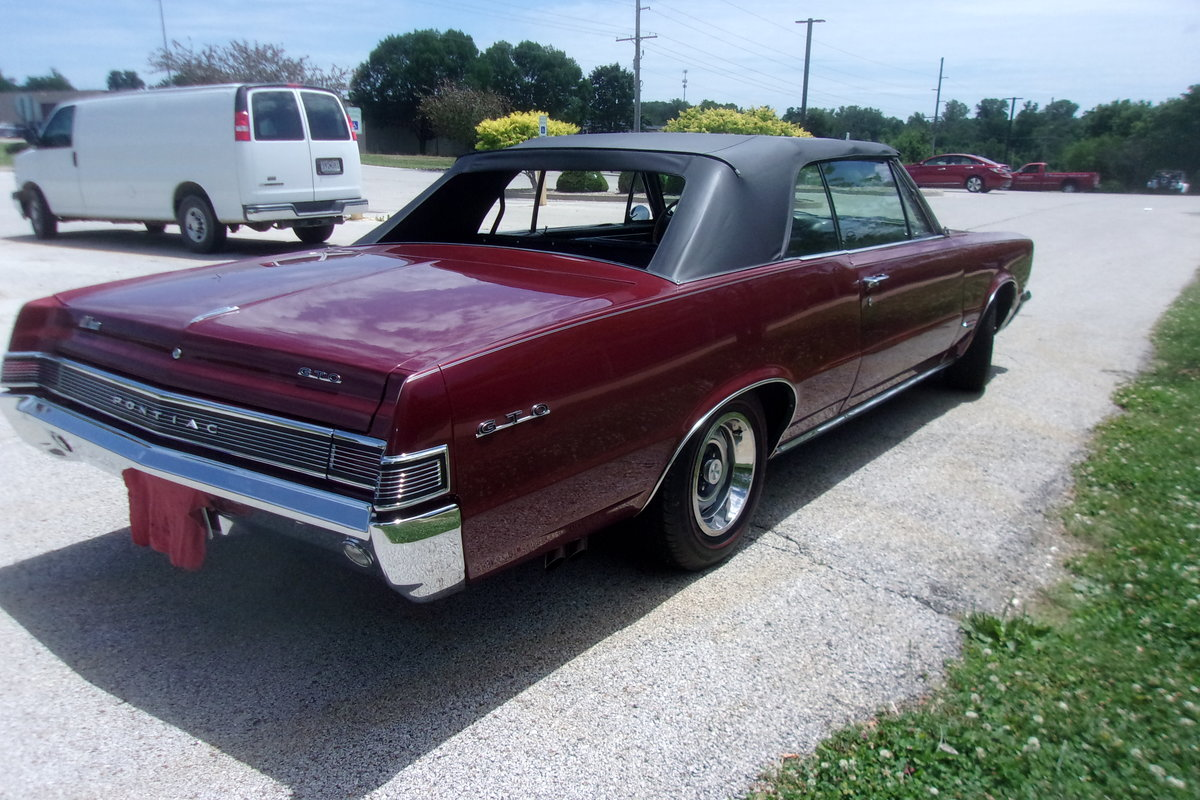 1965 Pontiac GTO Convertible For Sale (picture 6 of 6)